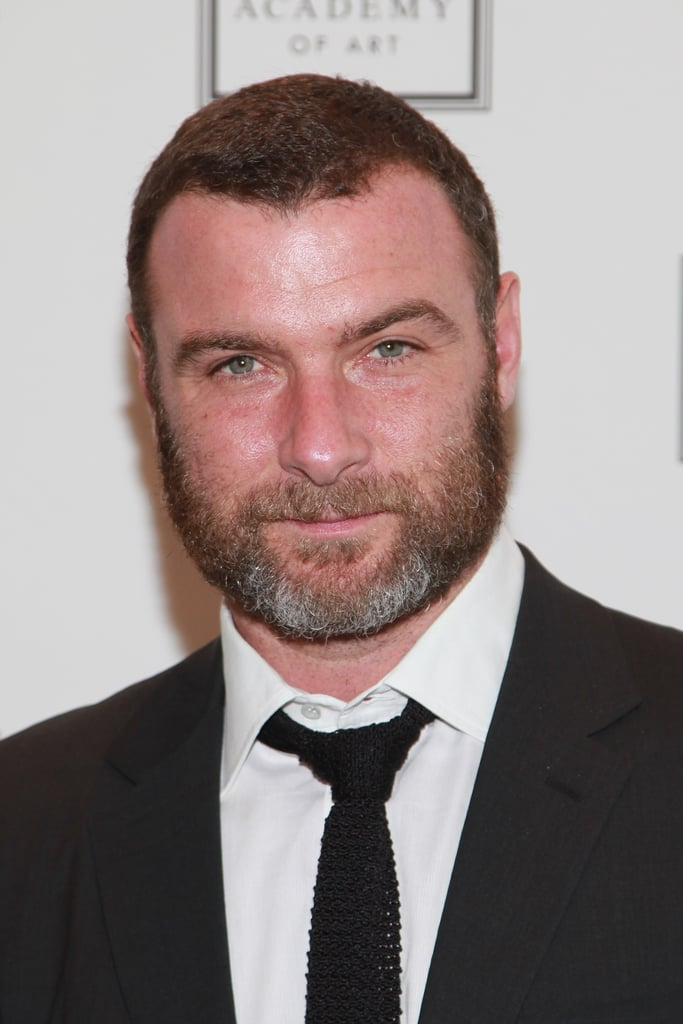 Liev Schreiber was in attendance at the Take Home a Nude art auction in NYC.