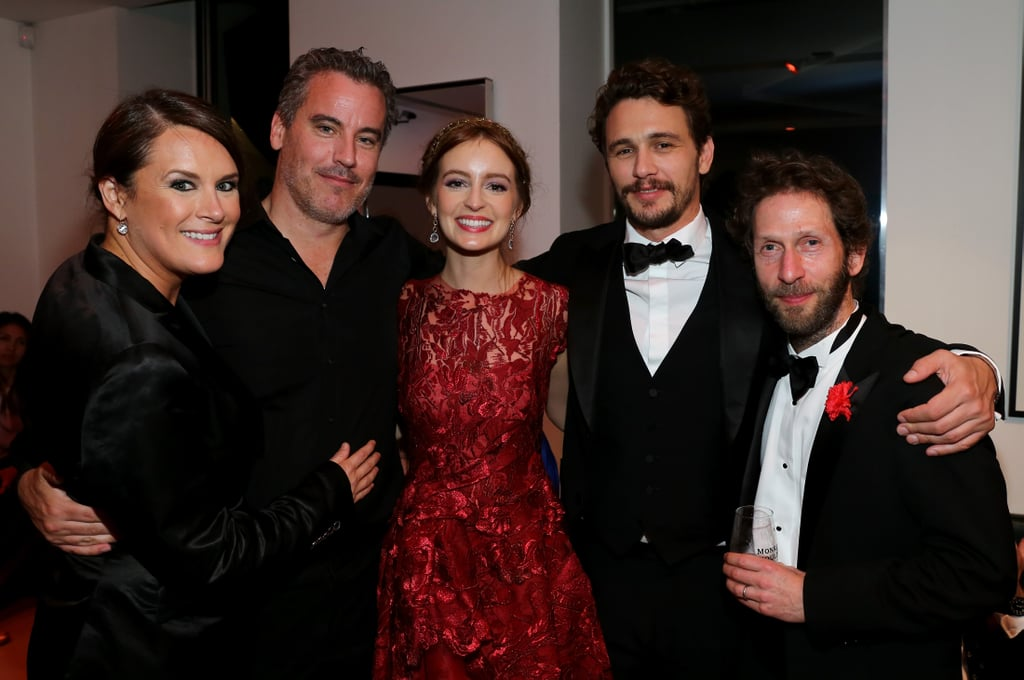 The cast and crew of As I Lay Dying celebrated their movie.
