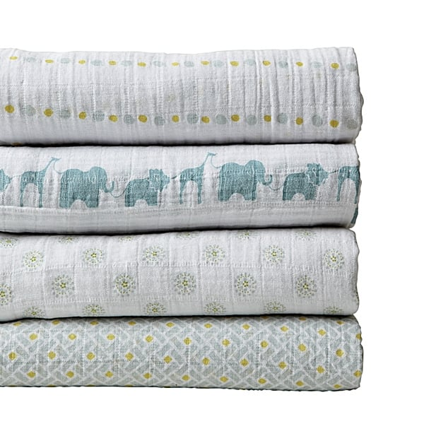 Aden + Anais Swaddle Blankets ($50)