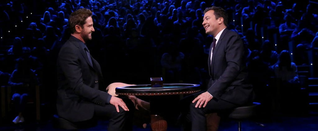 Gerard Butler and Jimmy Fallon Enjoy a Quiet Evening of Slapping the Hell Out of Each Other's Faces