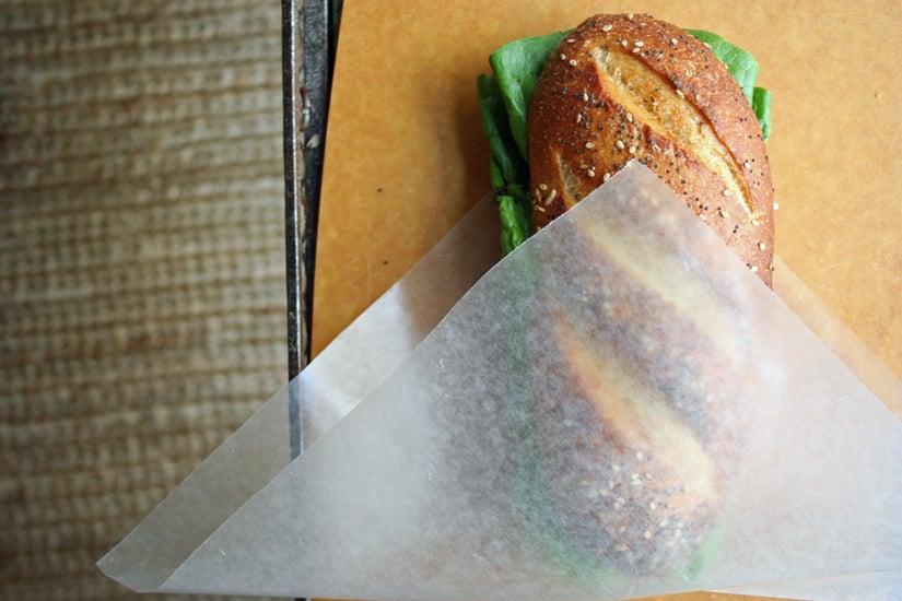 Making a Travel-Ready Sandwich