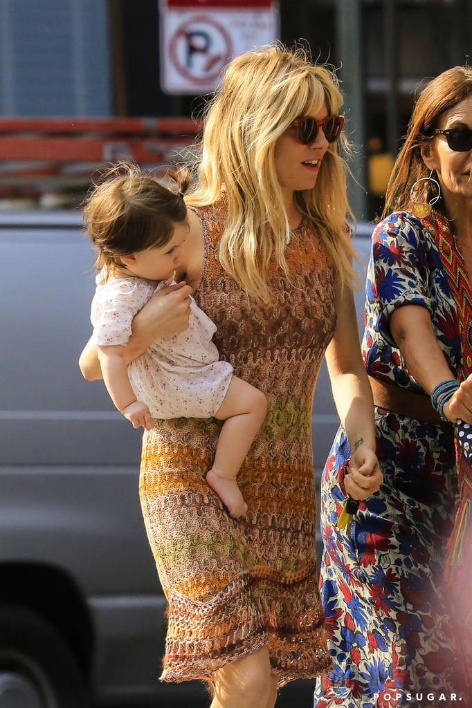 Sienna Miller Shows Love For Marlowe in NYC