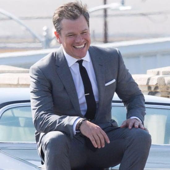 Matt Damon on GQ Photo Shoot Pictures May 2016