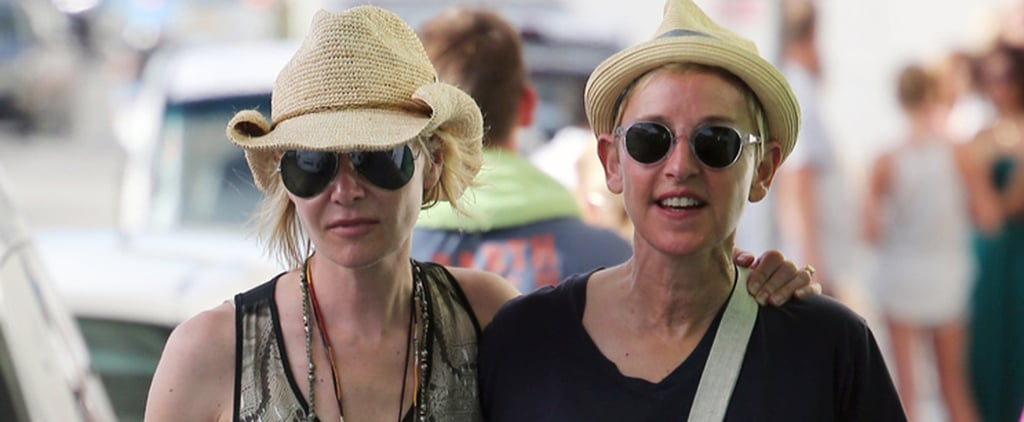 Ellen DeGeneres and Portia de Rossi Look So in Love During Their Christmas Vacation