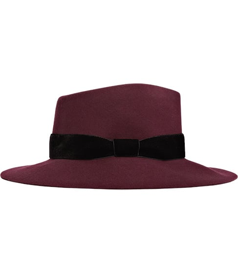I'll admit it, I have a sick obsession with hats — and the wider the brim, the better. The Scarlett Wide Brim Trilby from Reiss ($115) is a great addition to my collection of chapeaus, and the sumptuous wine color is not only perfect for Fall but gives a cool, Marianne Faithfull-inspired vibe. — Brittney Stephens, assistant editor