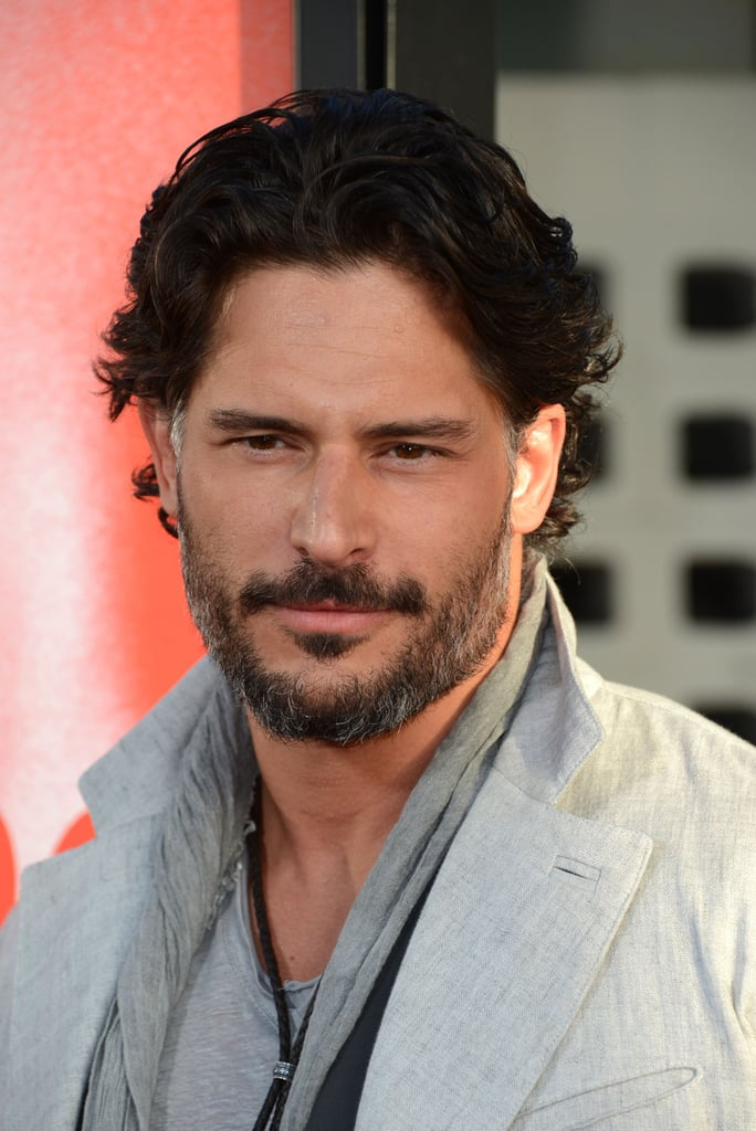 Joe Manganiello looked handsome as ever as he arrived at the True Blood premiere in Hollywood.