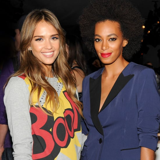 Jessica Alba, Solange Knowles at Phillip Lim Target Party