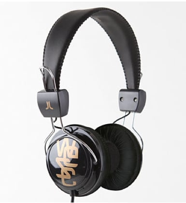 WESC Conga All Black Headphones ($40)