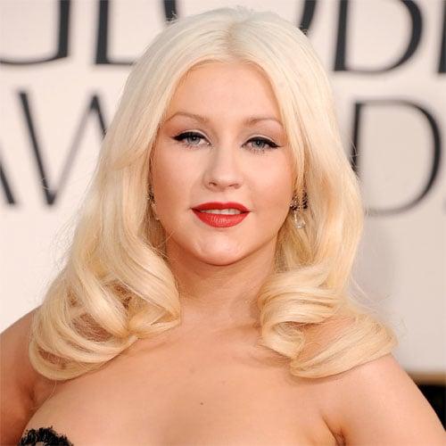 Christina Aguilera Golden Globes 2011