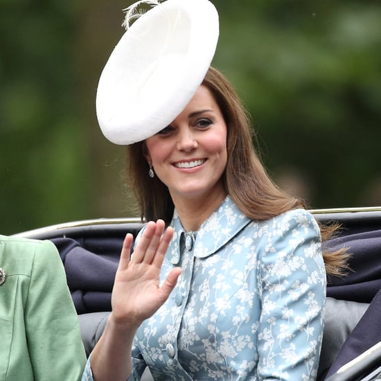 Pictures of Kate Middleton at 2015 Trooping the Colour