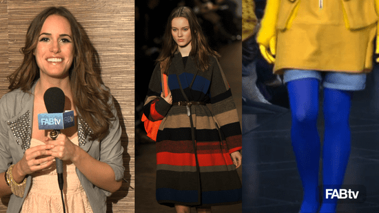 New York Fashion Week What's Fab: Top Color Trend for Fall