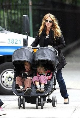 Julia Roberts Dyes Hair At Daughter's Request