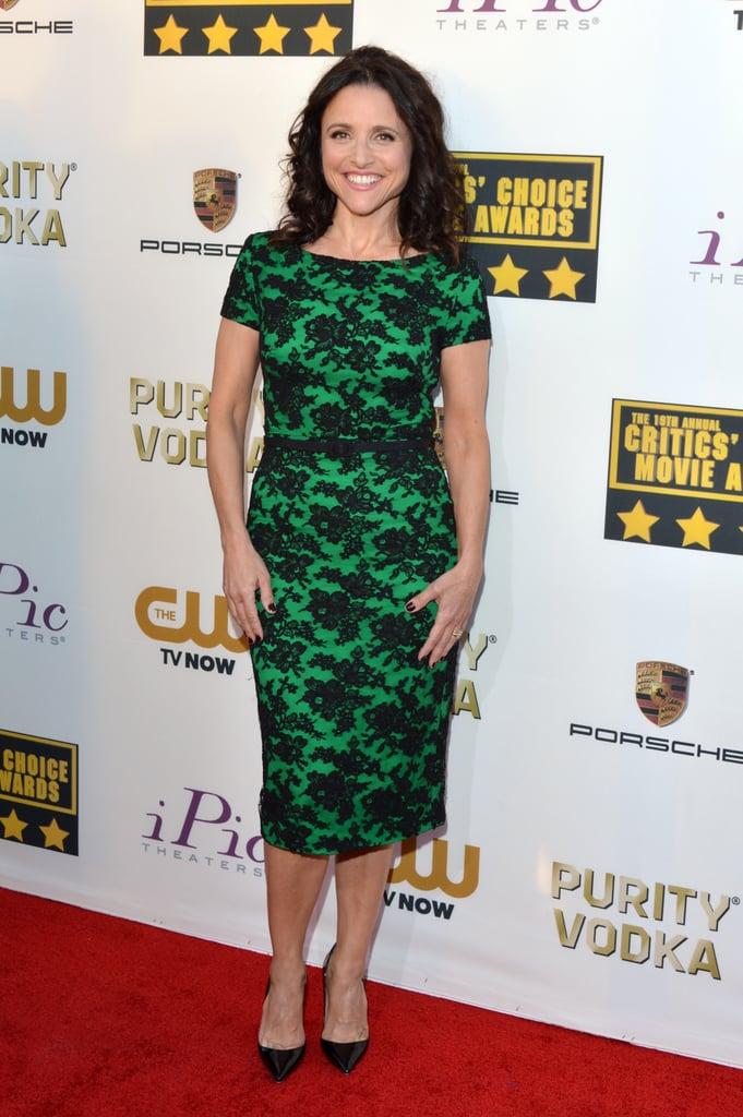 Julia Louis-Dreyfus the Critics' Choice Awards 2014