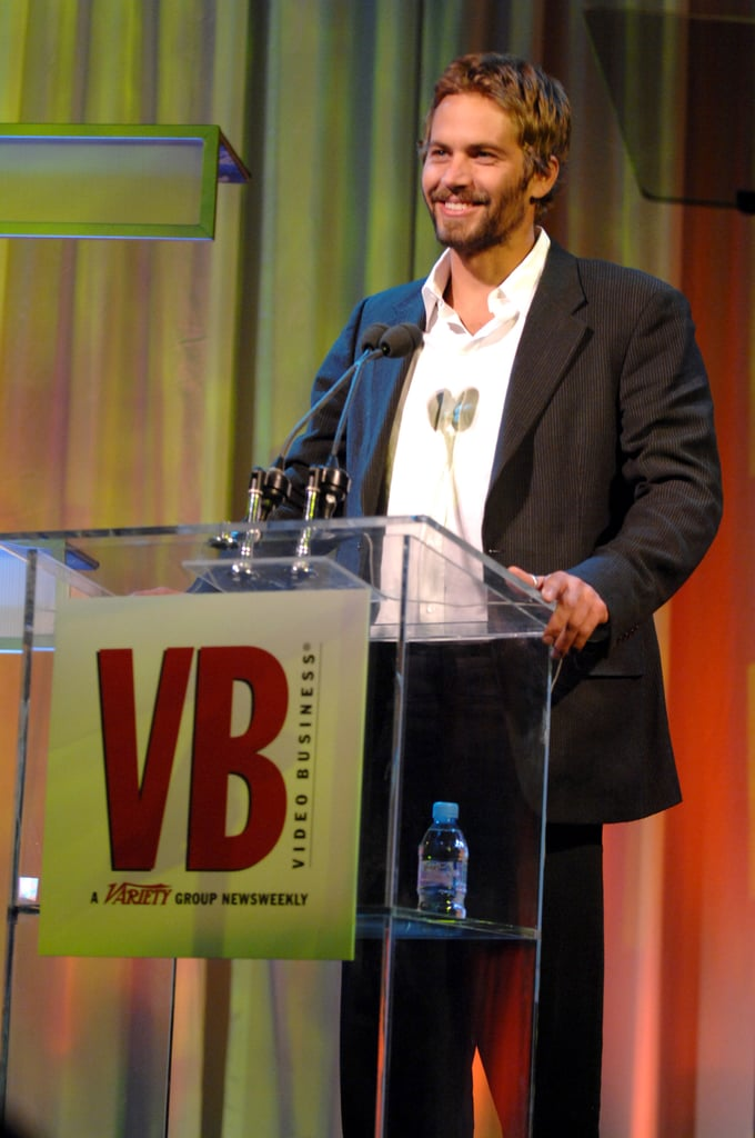 He spoke on stage at the Video Business Hall of Fame event in December 2006.