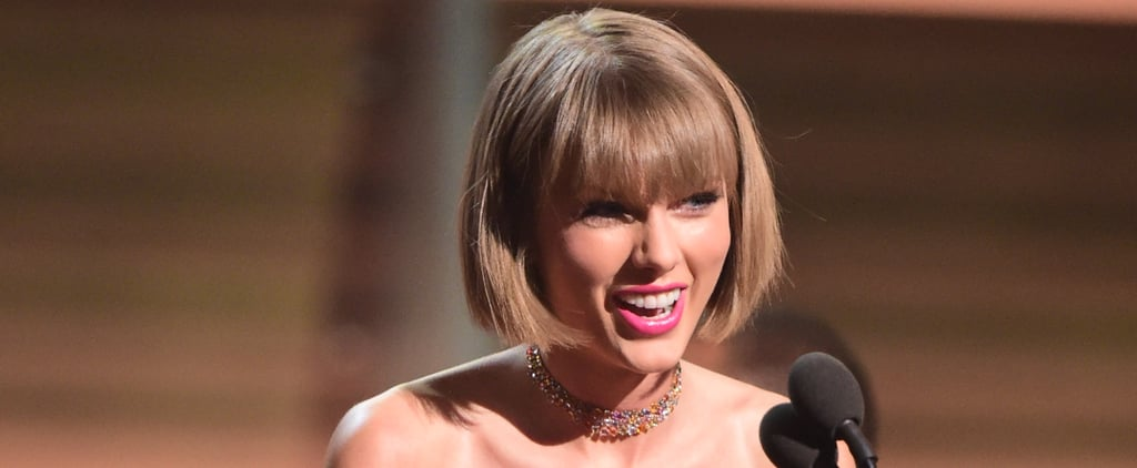 "Taylor Swift Responds to Kanye West's ""Famous"" Comments During Her Grammys Acceptance Speech"