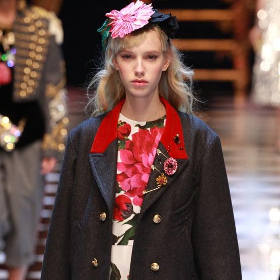 Dolce & Gabbana Runway Show Fall 2016