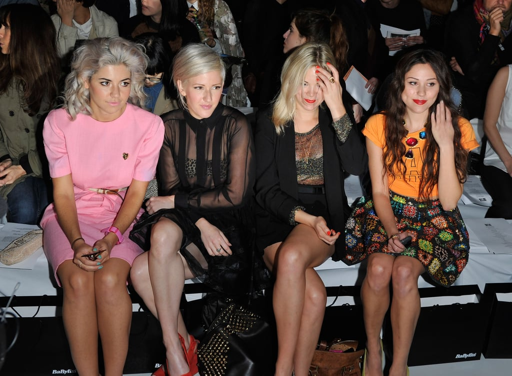 House of Holland: Marina Diamandis, Ellie Goulding and Eliza Doolittle