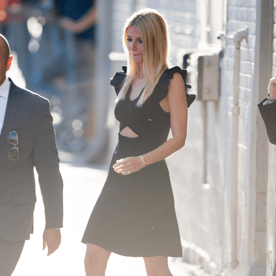Gwyneth Paltrow Black Dress Street Style