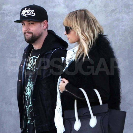 Nicole Richie was out in LA with husband Joel Madden.