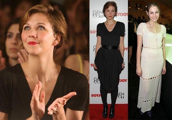 Photos of Maggie Gyllenhaal at Fashion Week in LA