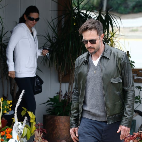 Pictures of Courteney Cox and David Arquette Together in Malibu