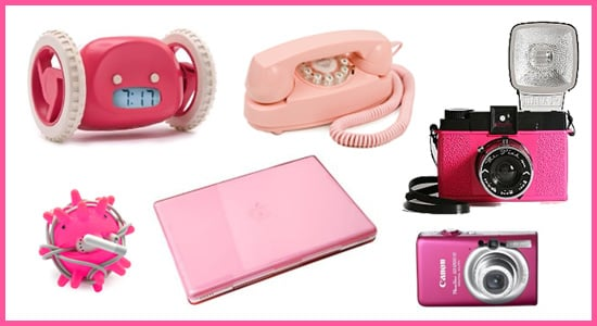 Technicolor Toys: Pink Gadgets and Accessories