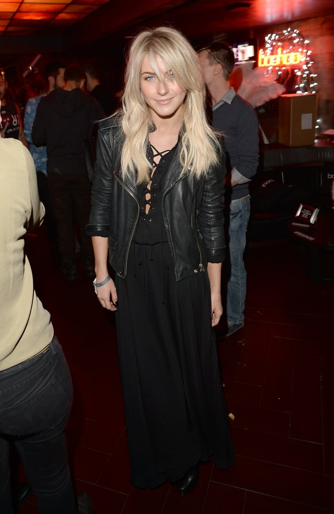 Julianne Hough came out to see the Mrs. Carter Show tour.