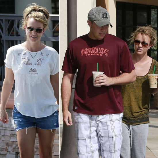 Britney Spears Picks Up Coffee With David Following Shape Photo Shoot