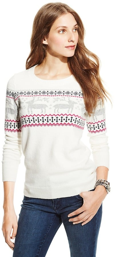 Tommy Hilfiger Fair Isle Shimmer Sweater ($80)