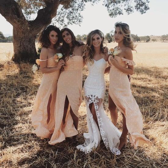 Olivia Newton-John's Daughter's Bridesmaid Dress