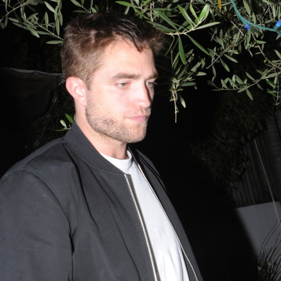 Robert Pattinson Dines at The Little Door in LA