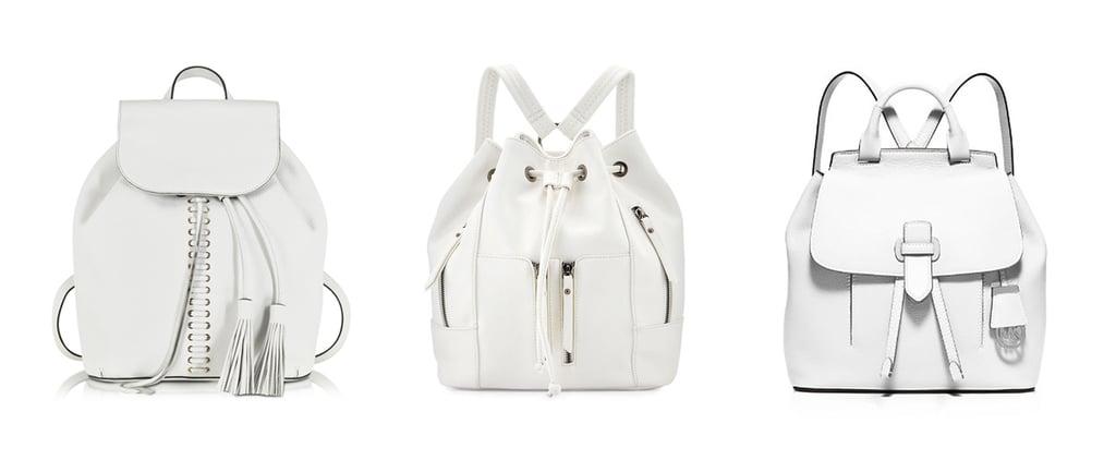 Spring Trends: 40+ Designer White Backpacks For Every Budget