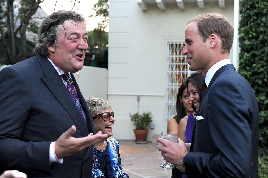 Prince William in LA.