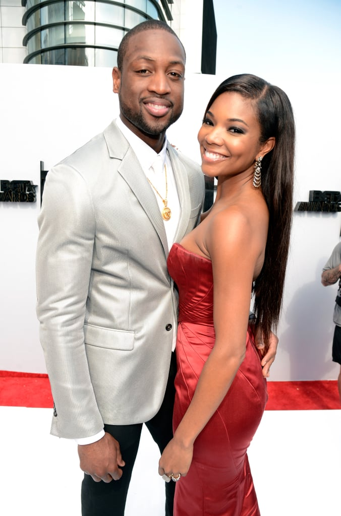 Dwyane Wade and Gabrielle Union coupled up on the red carpet.