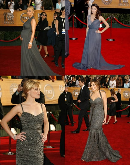 SAG Awards Red Carpet: Feelin' Grey