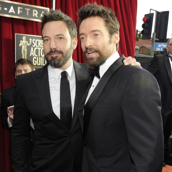 Ben Affleck and Hugh Jackman at the SAG Awards 2013