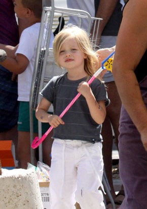 Photos of Shiloh Jolie Pitt in France With Angelina