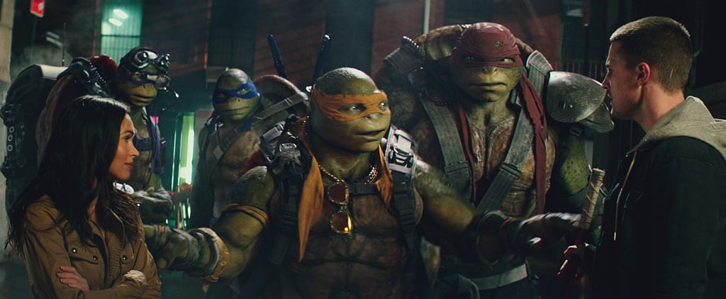 Exclusive: Watch Stephen Amell Flirt and Fight His Way Through TMNT: Out of the Shadows
