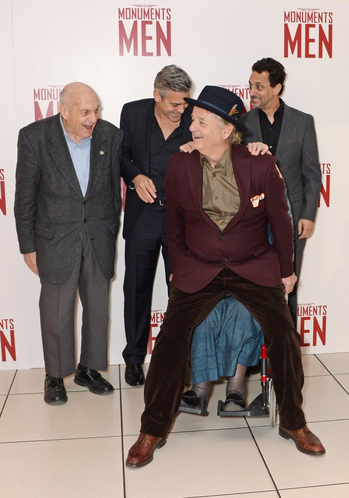 """Then he twerked on a surviving """"monuments man,"""" who was in a wheelchair."""