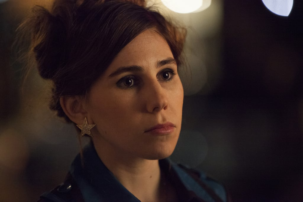 Shoshanna (Zosia Mamet) is not a happy camper.