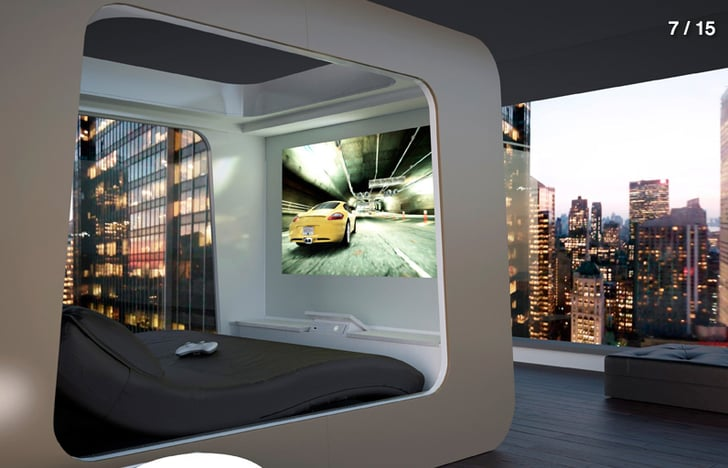 Home Theater Bed Power Down In These High Tech Beds