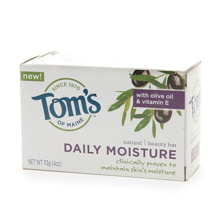 Tom's of Maine Daily Moisture Natural Beauty Bar Soap Review