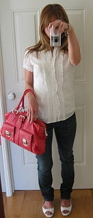 Look of the Day: Lady in Red (Purse)