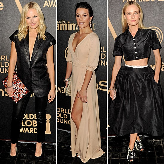 Diane Kruger, Malin Akerman, Lea Michele Golden Globes Event