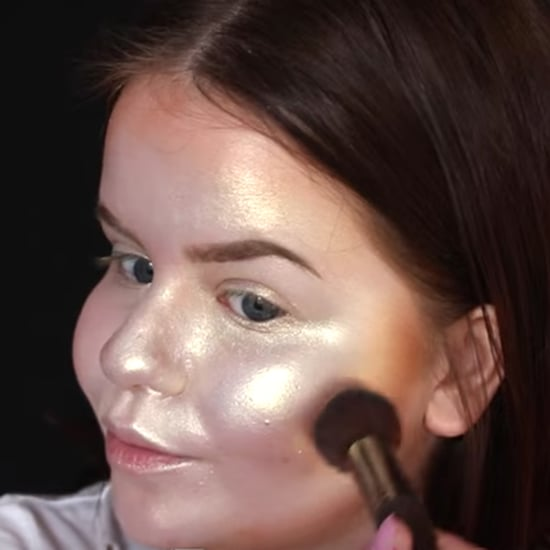 Full-Face Highlighter Makeup Tutorial