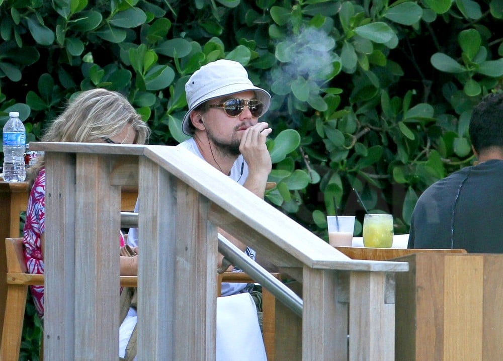 Leonardo DiCaprio Moves His Vacation to Miami and Hangs With Mom