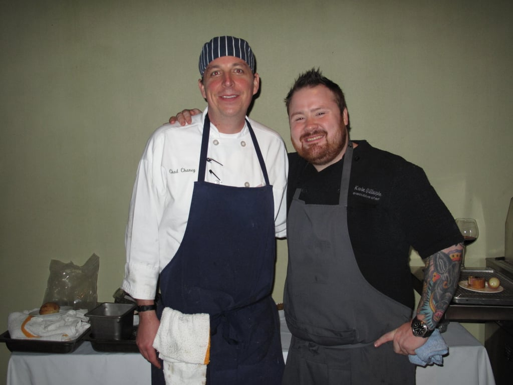 I was really looking forward to trying food from Kevin Gillespie, the winner of the Pigs & Pinot elimination challenge on last season's Top Chef.
