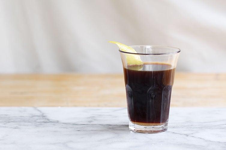 Warm Espresso-Rum Digestif