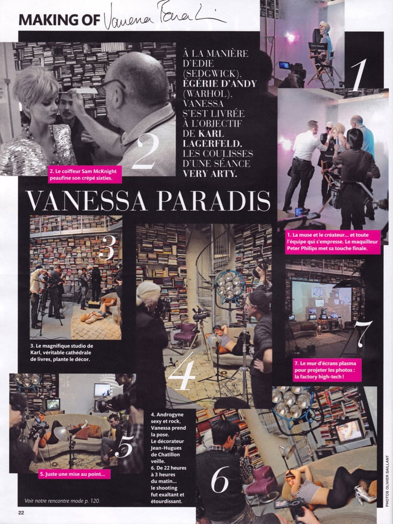 """Here is a behind-the-scenes view of Madame Figaro's """"Factory Story"""" editorial."""