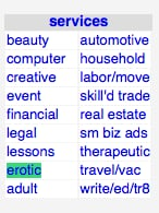 Craigslist Drops Ads For Erotic Services